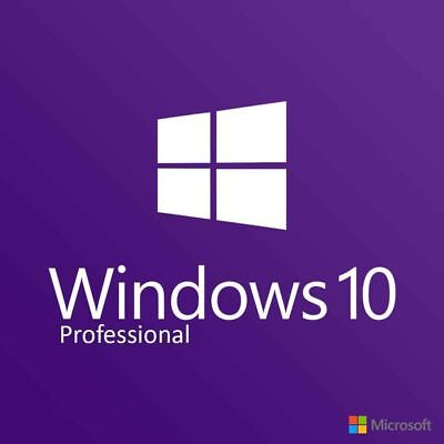 WINDOWS 10 PRO PROFESSIONAL Activation KEY/ Fast Delivery / 32 / 64 BIT