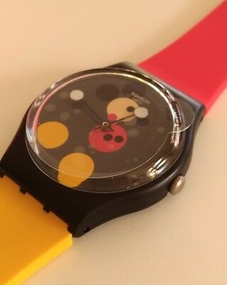SWATCH MICKEY 90th DAMIEN HIRST limited XMAS 2018