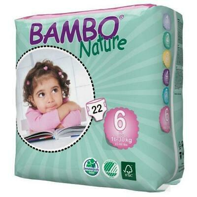 Bambo Nature Nappies Size 6 XL 16-30kg - 22 Pack