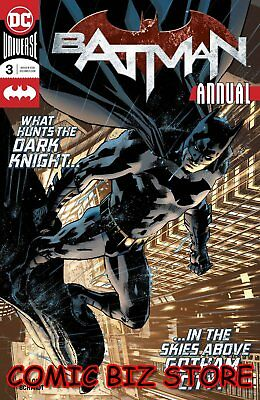 Batman Annual #3 (2018) 1St Printing Bagged & Boarded Dc Universe ($4.99)