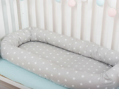 Toddler bed Baby Nest babynest portable crib cocoon lounger baby pillow bumper