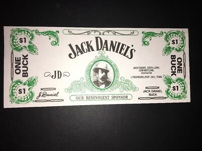 Jack Daniels - Old No. 7 - Collectible One Buck - Dollar Promo Piece
