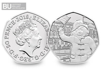 2018 UK Paddington at the Palace CERTIFIED BU 50p