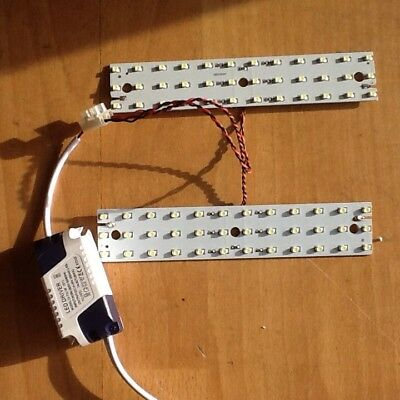 Cool White Led Array 7W (2x3.5W) With Mains Driver  DIY Light