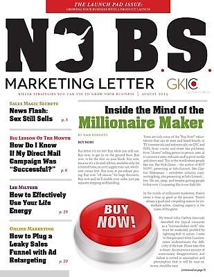 Dan Kennedy- ULTIMATE COLLECTION of NO B.S Marketing Letter in USB