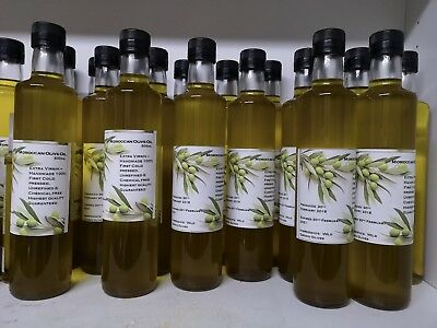 1x500ml Moroccan hand made extra Virgin Olive Oil.100 % first Cold Pressed