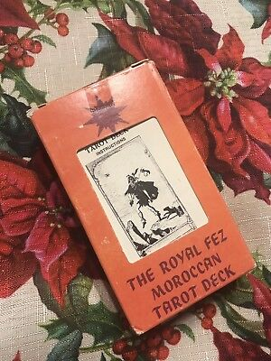 The Royal Fez Moroccan Tarot Cards Deck Vintage Rare Used