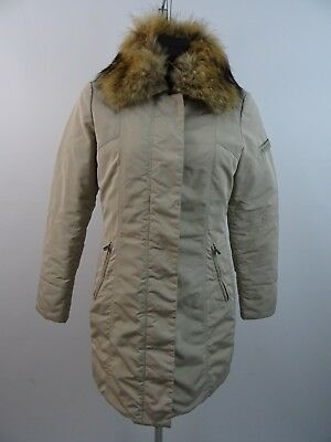 Peuterey METROPOLITAN FUR Damen Jacke Parka Down Jacket It. 48 Dt. 42 Real Fur