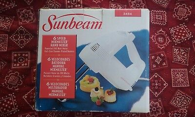 sunbeam 6 speed hand mixer