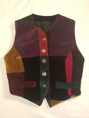 Bellissimo Dolce & Gabbana, gilet patchwork, taglia 42, made in Italy, 5 bottoni