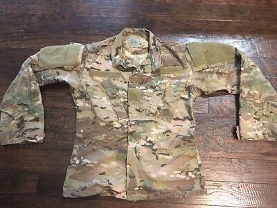 US Army Multicam FRACU Insect Flame Resistant FR OCP Jacket XS/S NWOT