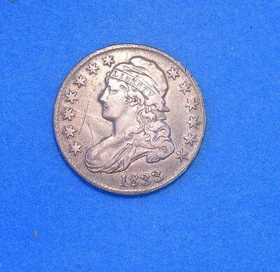 1833 Capped Bust Half Dollar xf Extra Fine condition 50c silver coin