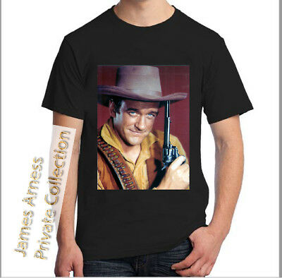 "James Arness Private Collection ""Marshal Dillon Gunsmoke""  2018 Tee Shirt"