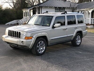 2008 Jeep Commander  2008 Jeep Commander Overland 4x4  Luxury SUV