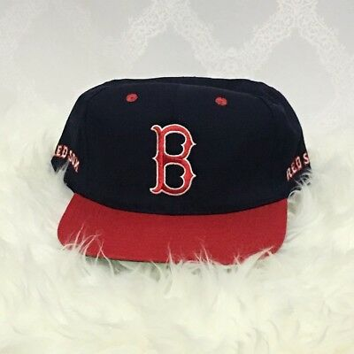 10d6b0b7 MLB Boston Red Sox Adjustable Snapback Blue Baseball Hat Cap Navy One Size