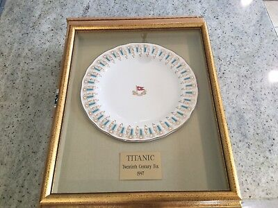 Rare TITANIC Prop Dinner Plate With COF