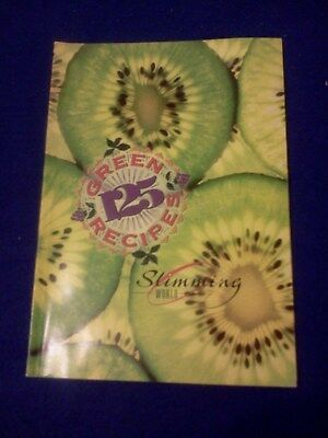 Slimming World book  125 green recipes    50 are sin free