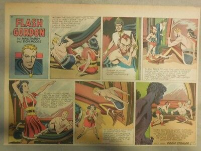 (52) Flash Gordon Sunday Seiten von Mac Raboy von 1949 Komplettes Year