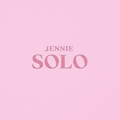 KPOP BlackPink [Jennie] Album [SOLO] CD+Poster+PhotoBook+M.Book+Card+Sticker