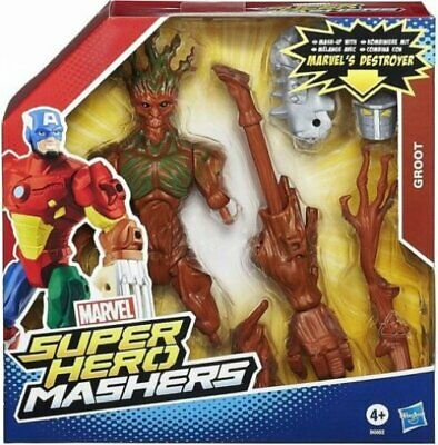 Marvel Super Hero Mashers Guardians of The Galaxy Groot Destroyer Figure