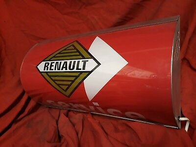Renault,5,4,gordini,dauphine,illuminated,mancave,lightup sign,garage,workshop