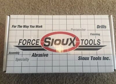 "Sioux 5055A Angle Die Grinder 1/4"" Collet 20000RPM Aircraft Tools(dotco)"