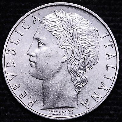 1965 Italy 100 Lire Coin        Free S/H To The USA