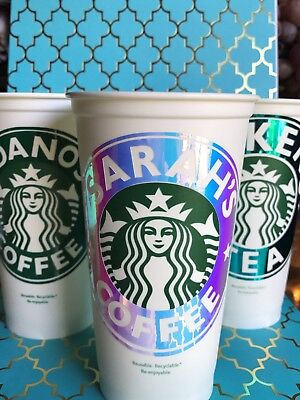 Starbucks  Coffee Cup  personalized custom name