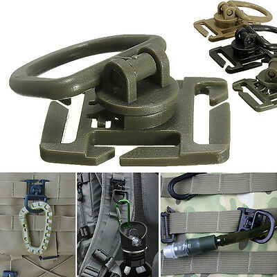 2/5Pcs Molle Strap Backpack Bag Webbing Connecting Buckle Clip EDC OutdoorToolCR