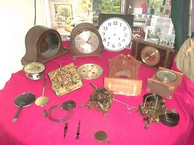 clock parts big lot