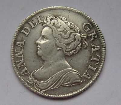 MD113 - Anne (1702-1714), Post-Union with Scotland, Shilling, 1711
