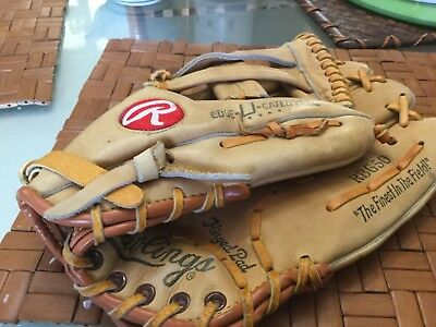 RAWLING LEATHER Baseball mitt left hand RBG 50 hinged pad OZZIE SMITH VGUC