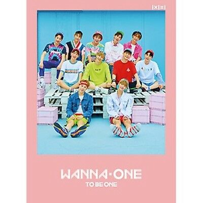Pink Wanna One 1st Mini Album To Be One CD+Poster+PhotoBook+M.Book+Card+Sticker