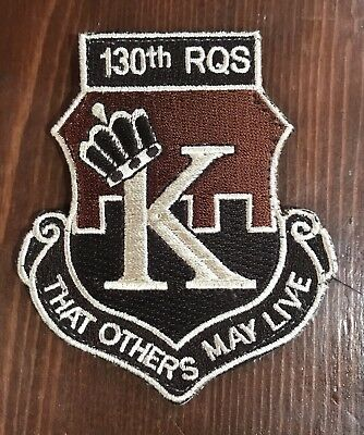130th RQS US Air Force Patch 130 RQS THAT OTHERS MAY LIVE Military Patch