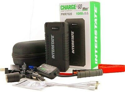Interstate Charge&Go MAX Jump Starter and Charger PWR7020