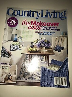 Country Living Magazine - Sept 2010- The Makeover Issue New Larger Size  (B-11)