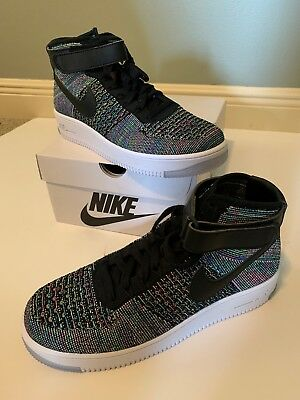 5e07d07a842fc Men s Nike AF1 Air Force 1 Ultra Flyknit Mid Multi Color Size 10 817420-601