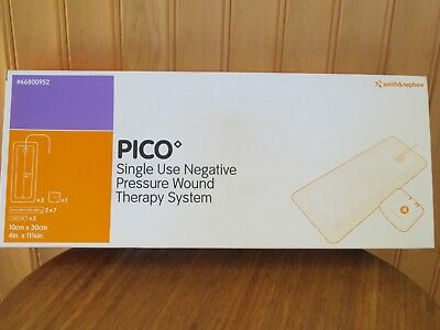 """PICO Negative Pressure Wound Therapy Sys 3 Dressings 4"""" x11.75""""  Pump #66800952"""