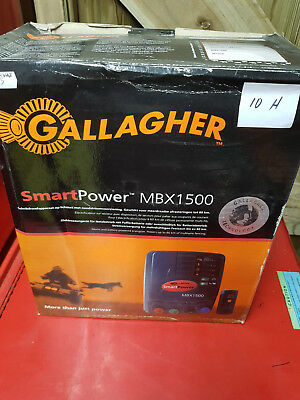 Gallagher MBX1500 electric fence energizer