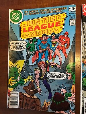 LOT OF Justice League of America DC COMICS #158 #169 #171 Very Nice Shape