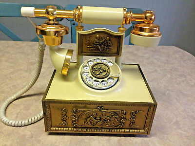 Vintage American Telecommunications Corp. Victoria French Rotary Telephone
