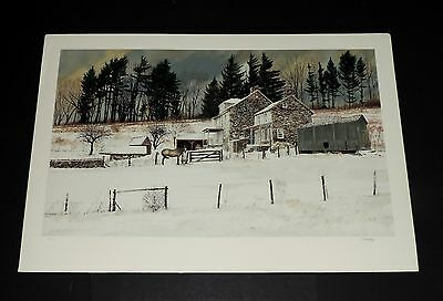Peter Sculthorpe - Littlewoods - Collectible Pennsylvania Landscape Print