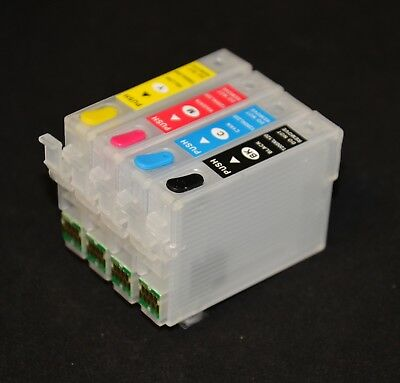 REFILLABLE Compatible Ink Cartridge for EPSON XP440 XP446 T288 OneTimeChip CIS