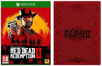 Red Dead Redemption 2 with Collectible SteelBook Xbox One (Xbox 1)
