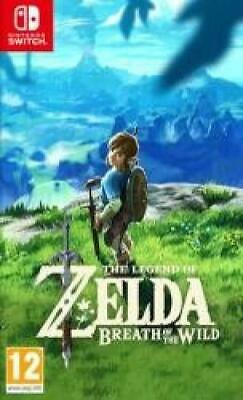The Legend of Zelda: Breath Of The Wild (Nintendo Switch) Brand New & Sealed