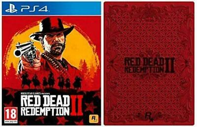 Red Dead Redemption 2 with Collectible SteelBook Playstation 4 (PS4)