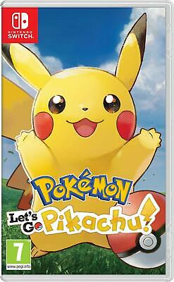 Pokémon Let's Go! Pikachu | Nintendo Switch New (1)