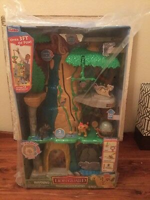 Disney Lion Guard Kids 3ft Training Lair Playset With Lights And Sounds New