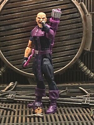 Marvel Legends Custom Dark Hawkeye Avengers Bullseye