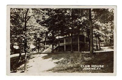 RPPC Jenkins, KY  Club House  Posted 1932